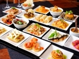 Around the World: Appetizers and Tapas