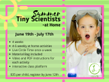Summer Tiny Scientists - at Home