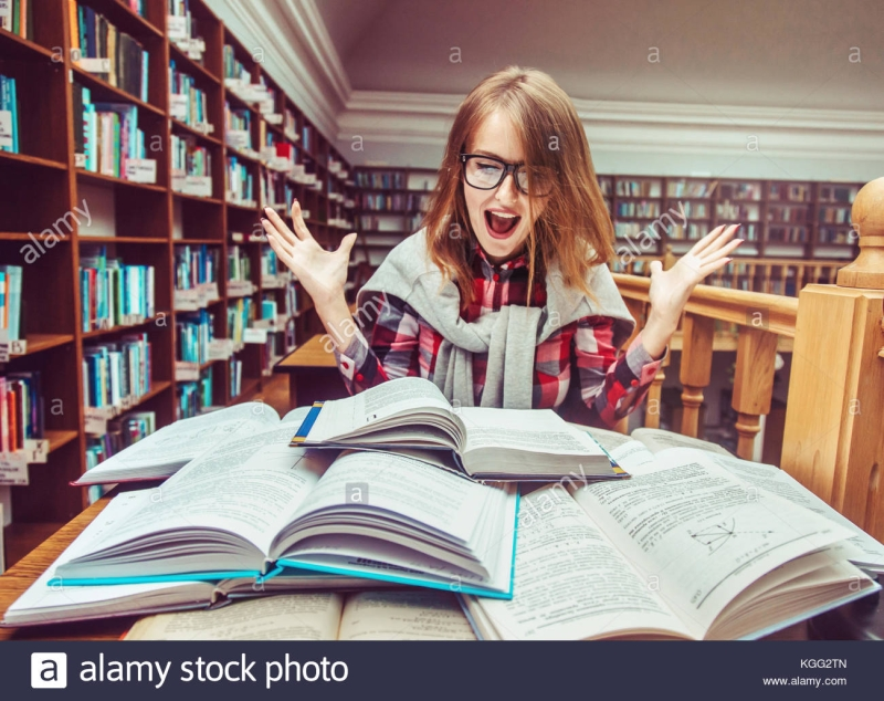 Original source: https://c8.alamy.com/comp/KGG2TN/successful-girl-studying-hard-in-library-KGG2TN.jpg