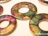 Alcohol Ink Necklace