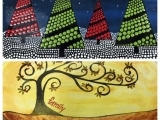 Pottery Paint Night - Family OR Christmas Tree Platter