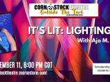 It's Lit: Lighting Design with Aja M. Jackson