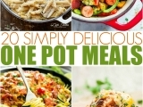 One-Pot Dinners for the Busiest of Families SII - Spring 2019