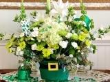 408S20 Pot of Gold Floral Design