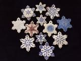 Porcelain Snowflake Ornaments Wkshop I