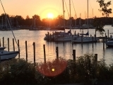 Sunset Over the Harbor (Online Class)