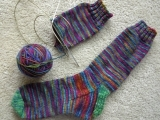 Knitting - Introduction to Socks Messalonskee W18
