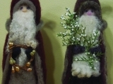 Introduction to Needle Felting-Santa