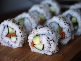 California Rolls and Miso Soup