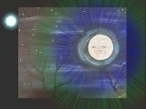 """E-05-15 Mixed Media """"Noche de la Luna:"""" Night of the Moon"""