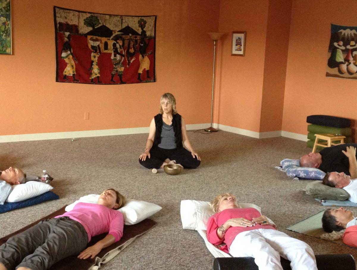 Breathing, Stretching And Meditation
