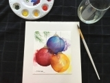Holiday Watercolor and Wine at Lobster Cove with Kathy Carter