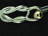 Silver Cape Cod Knotted Bracelet