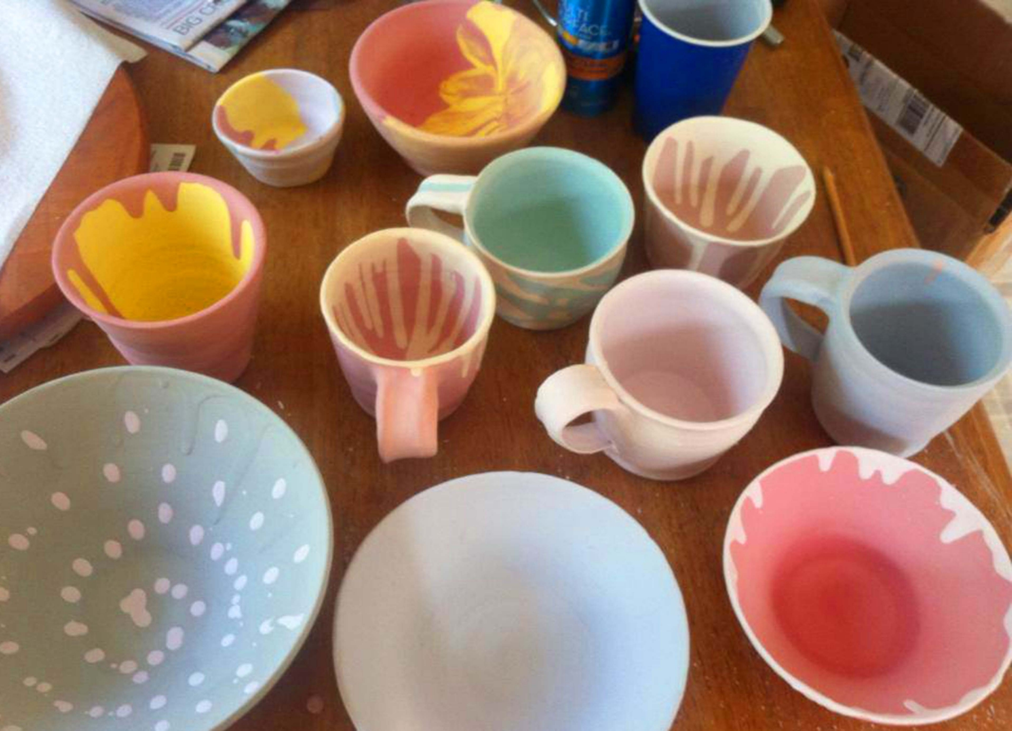 Create Your Own Pottery Session 2