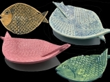 "EW-09-03 Clay ""New Wave Folded Plates"""