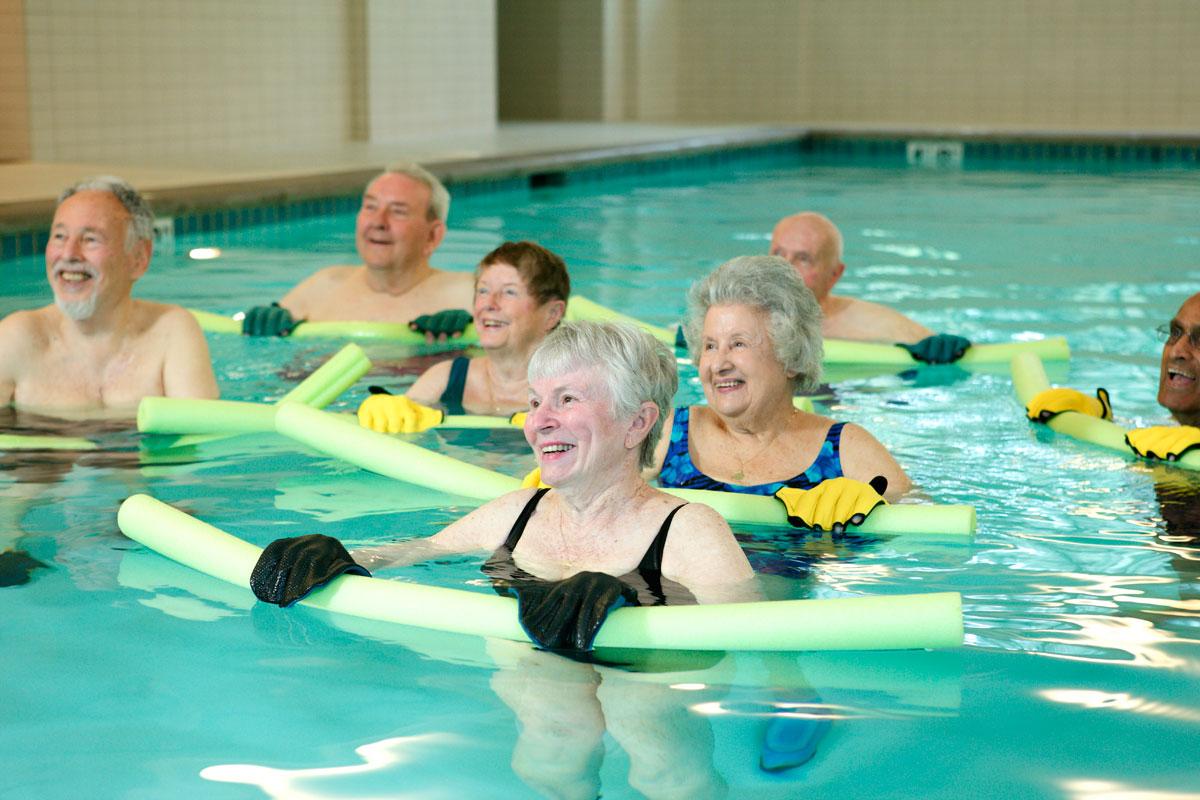 SAGE Senior Water Fitness Class