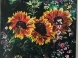 Flower Power! Adult Arcylic Painting Wednesday
