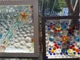 Framed Mosaic Sun Catcher