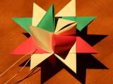 German Folded Paper Stars