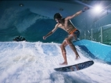 Indoor Surfing at Skyventure