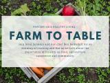 Farm to Table - FREE