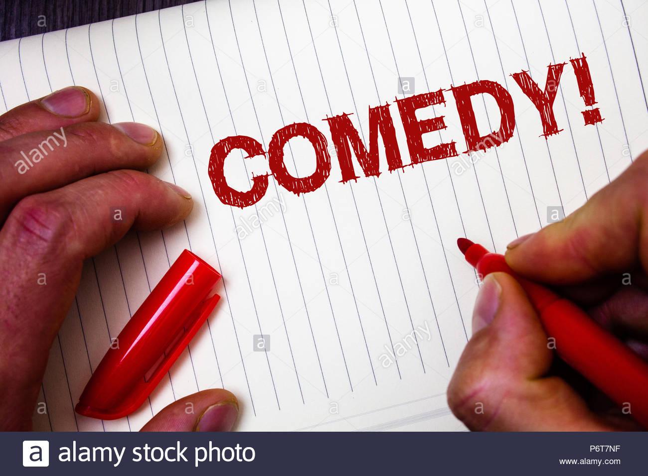 Comedy Writing Class with Ian Stuart