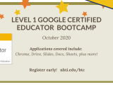 L1 Google Certified Educator Prep