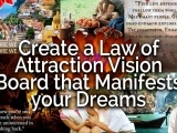 The Law of Attraction and Vision Boards F18