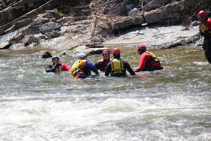 Swiftwater Search and Recover