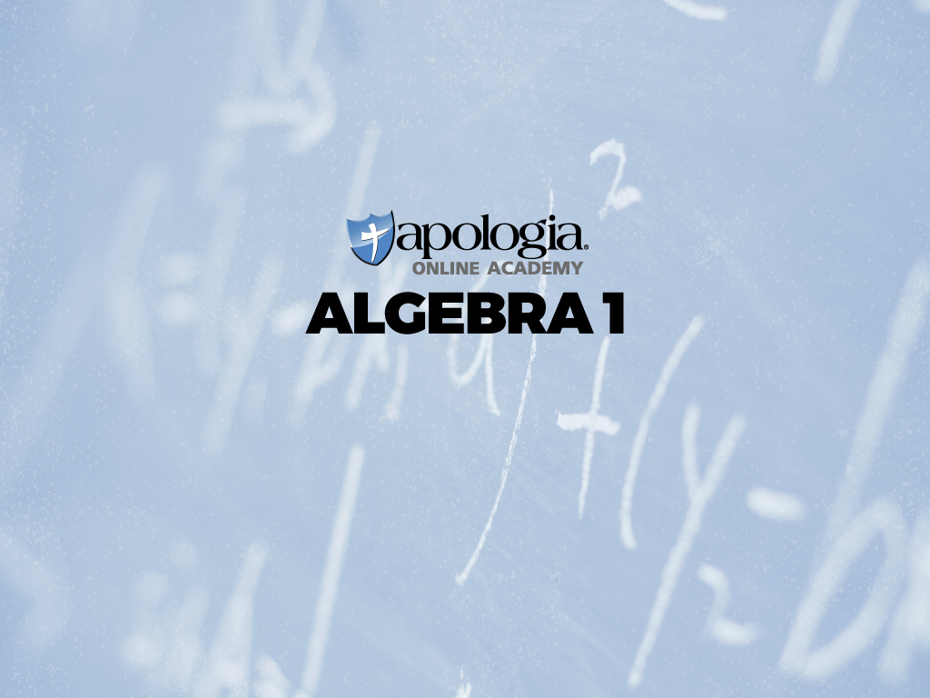03. ALGEBRA I (Option 1) $638*