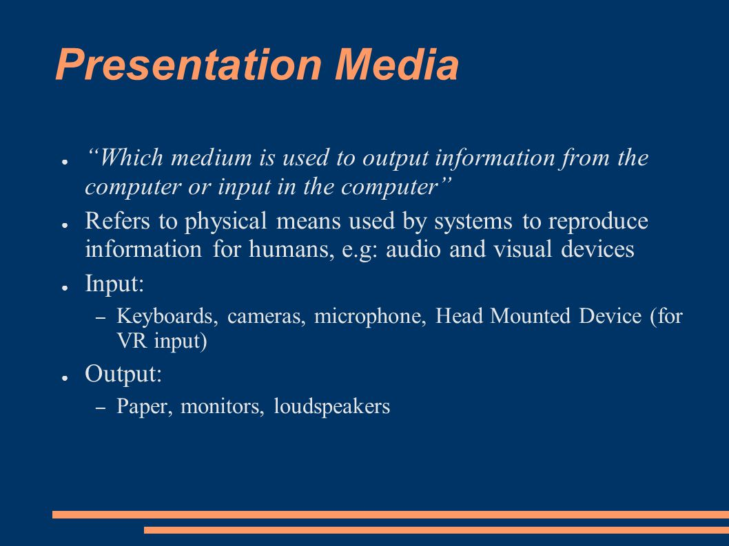 Presentation Media Certificate 4/1