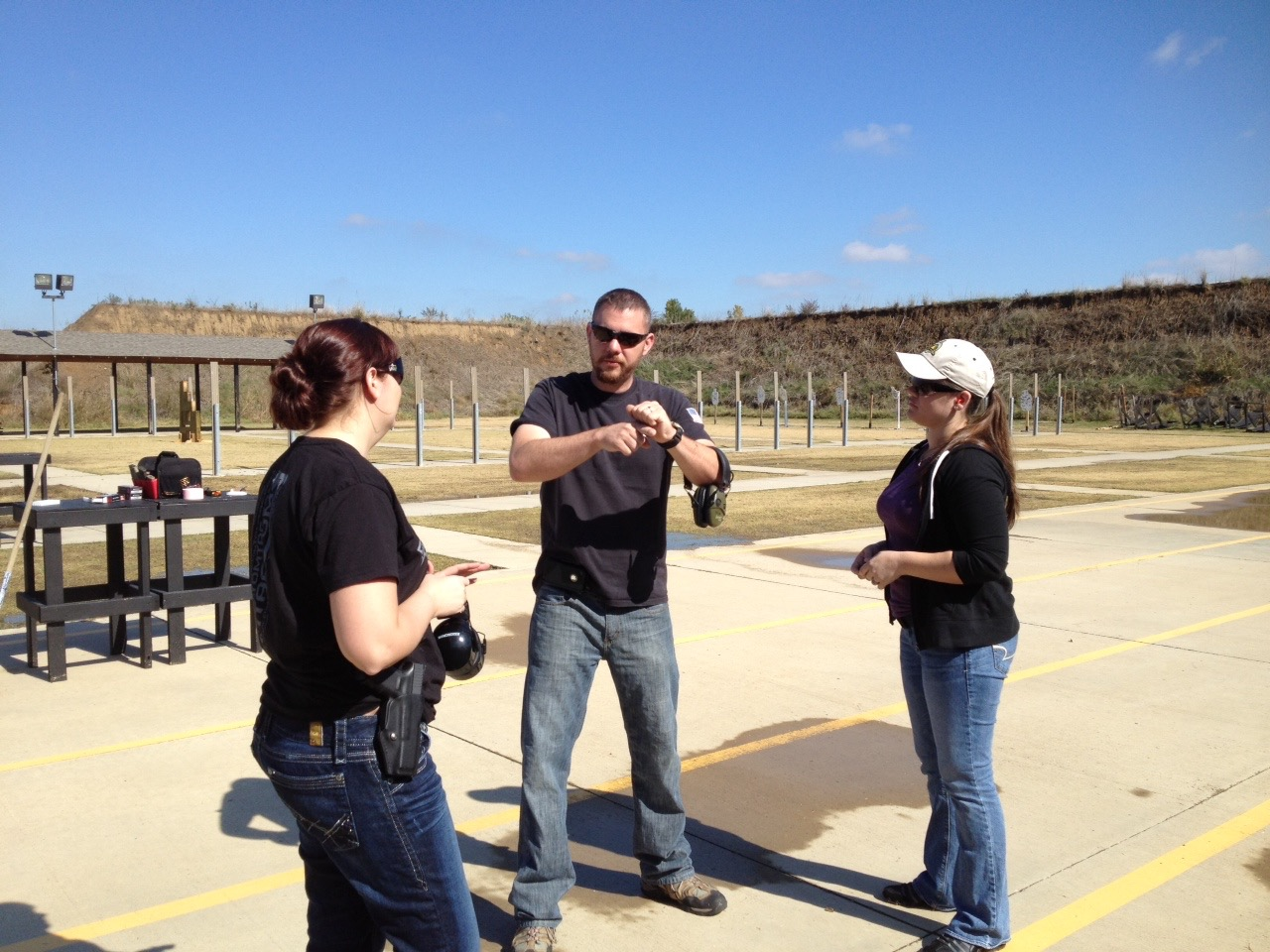 100 -  BASIC HANDGUN MARKSMANSHIP/Pryor Creek, OK