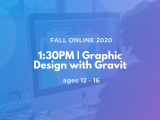 1:30PM | Graphic Design with Gravit