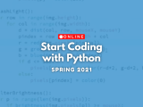 [Online] Start Coding with Python
