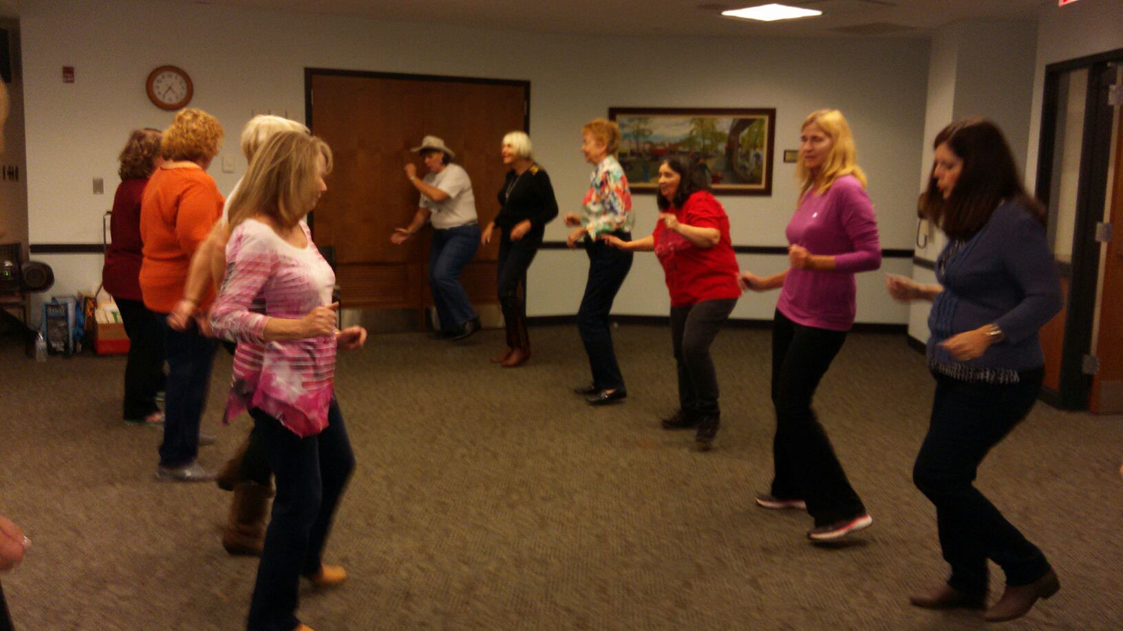 Intro to Line Dancing