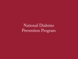 Diabetes Prevention Program - FCHN 002