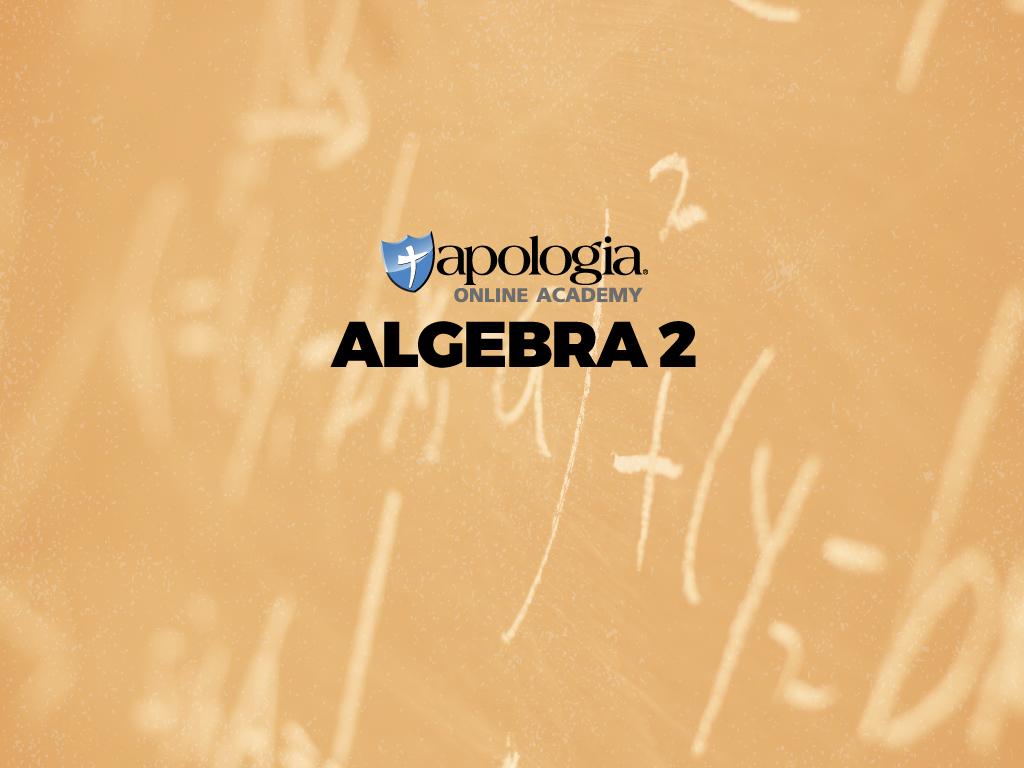 06. ALGEBRA II/Rec (Option 2) $638*