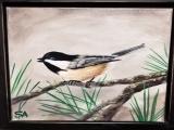 Maine Chickadee Paint Night