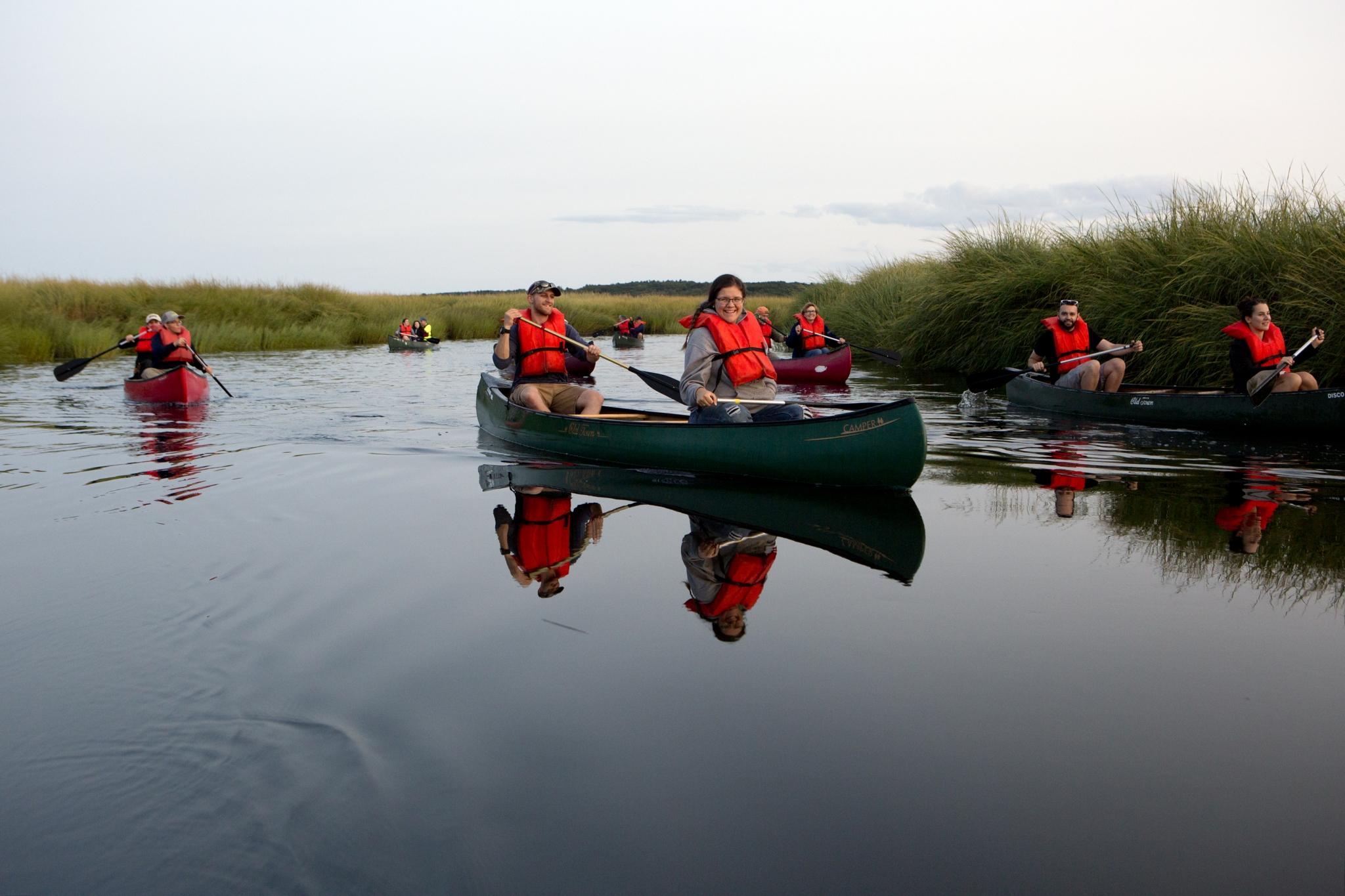 Canoe Tour with LEA