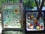 Framed Mosaic Suncatcher - Spring 2018