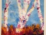 Paint Night: Fall Birches