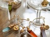 Seaglass Wine Charms