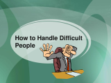 Achieving Success with Difficult People (Fall 2017)