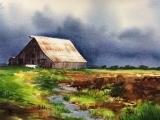 Watercolor Maine Landscapes Hampden