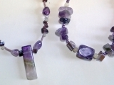 Create a Beautiful Amethyst Necklace