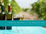 Wine 101:  An Intro to the World of Wine