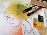 Pen and Ink with Watercolor Drawing - Online Class