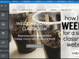 Creating a Classroom Website (Self-Paced Tutorial)
