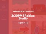 3:30PM | Roblox Studio