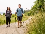 Walking with Poles for Exercise or Balance